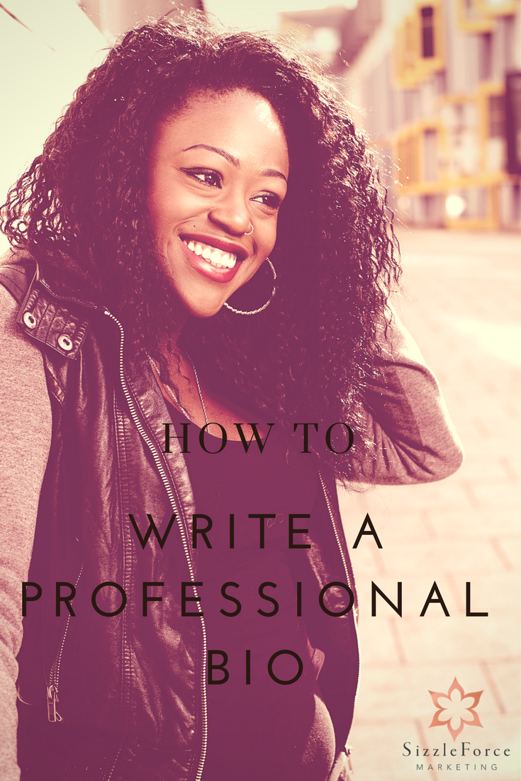how to write a professional bio Share this post if you don't have a professional bio, or if it's been acquiring  electronic dust in a long lost folder, it's probably time you.