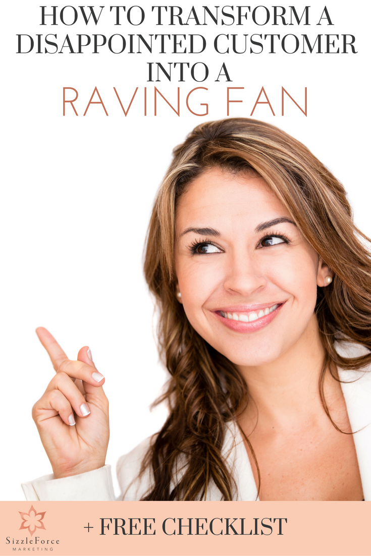 How to transform a disappointed customer into a raving fan