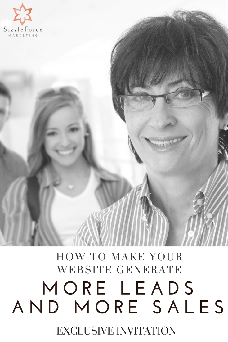 HOW TO MAKE YOUR WEBSITE GENERATE MORE LEADS & SALES