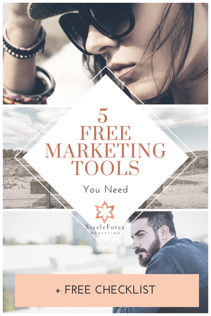 5 FREE MARKETING TOOLS YOU NEED
