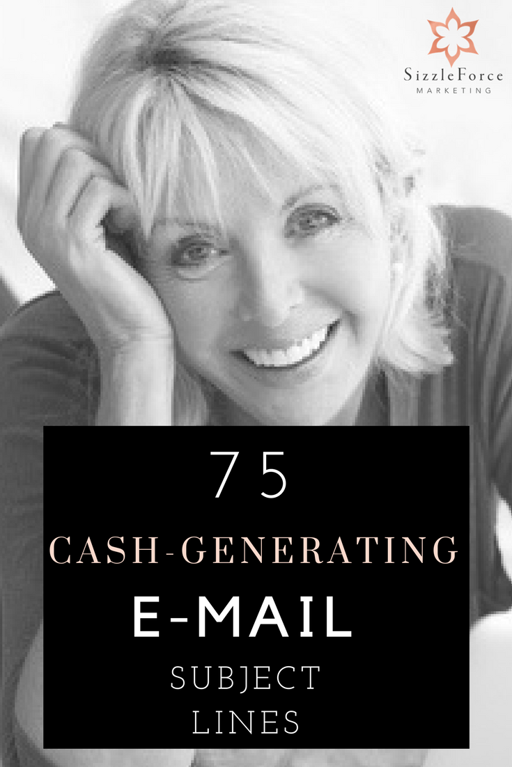 75 Cash Generating Email Subject Lines
