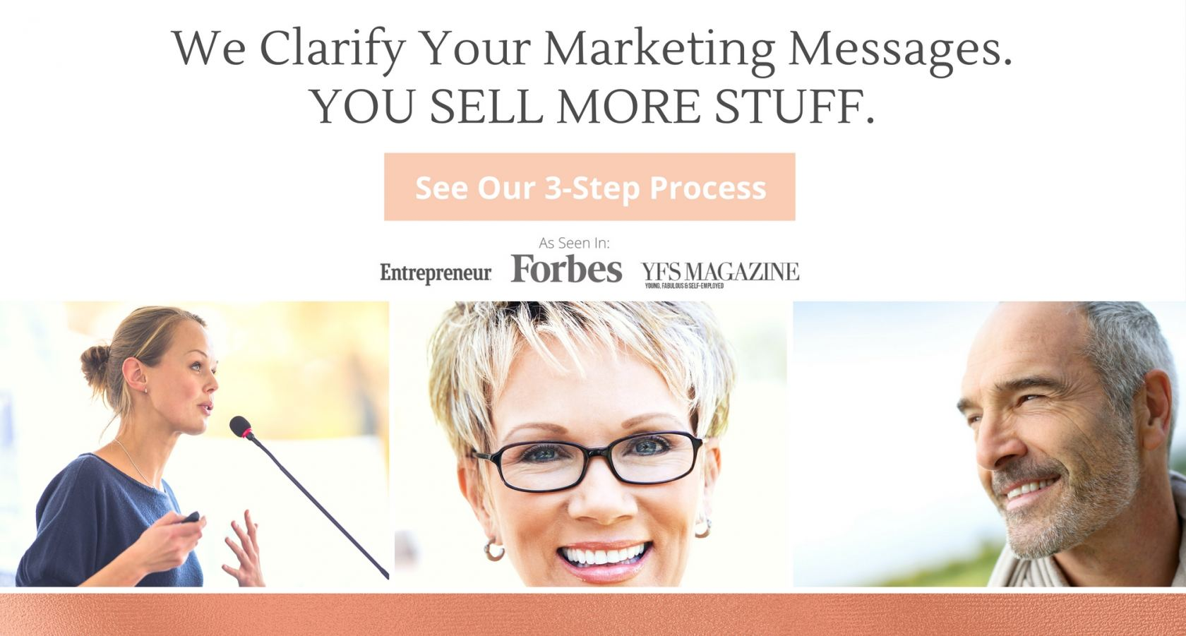 We clarify your marketing messages you sell more stuff // san diego marketing agency // sizzleforce marketing