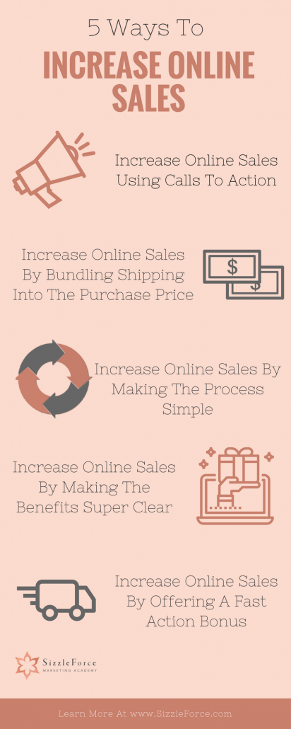 5 Ways To Increase Online Sales Now, increase sales online, increase website conversions, get more website sales, get more sales on your website