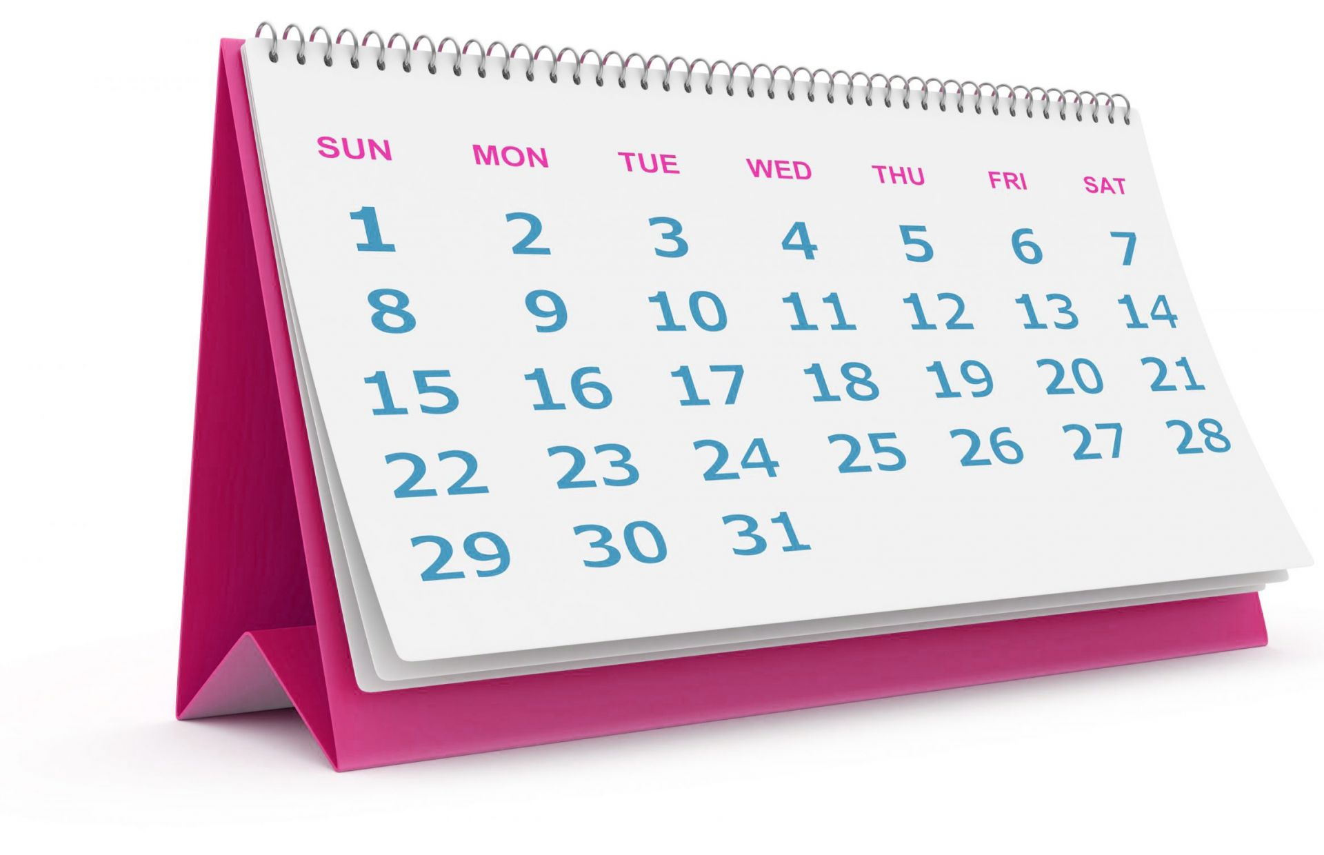 calendar marketing workshops events