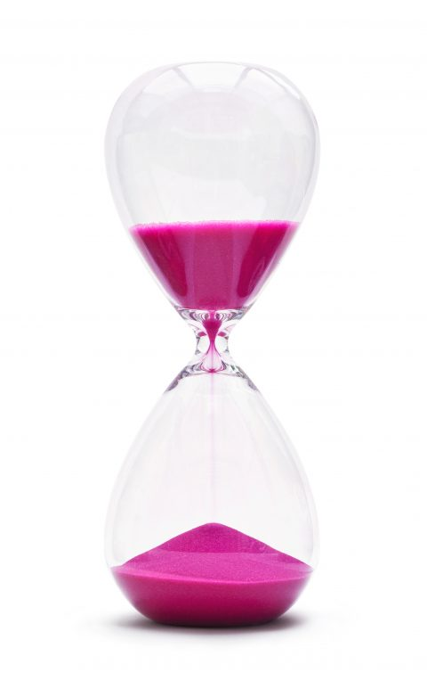 seconds hourglass for opinions on website design